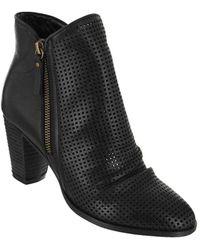 MIA - Riya Leather Booties - Lyst