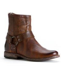 Frye | Phillip Harness Short Vintage Leather Boot | Lyst