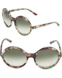 B Brian Atwood - 58mm Round Sunglasses - Lyst