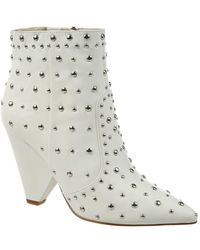 Sam Edelman - Roya Studded Leather Booties - Lyst