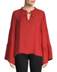 B Collection By Bobeau - Fianna Poet Blouse - Lyst