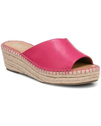 Franco Sarto - Pinot Leather Espadrille Wedges - Lyst