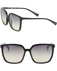 Sam Edelman - 57mm Square Sunglasses - Lyst