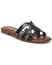 Sam Edelman - Bay Leather Slides - Lyst