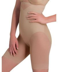 Miraclesuit - Sexy Sheer Shaping Hi Waist Thigh Slimmer - Lyst