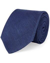 Lauren by Ralph Lauren - Classic Textured Tie - Lyst