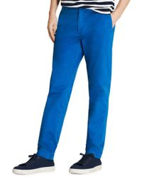 Brooks Brothers Red Fleece - Garment-dyed Chino Trousers - Lyst