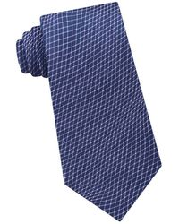 Calvin Klein - Optic Play Silk Tie - Lyst
