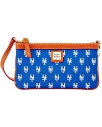 Dooney & Bourke - Mlb Collection Texas Rangers Large Slim Wristlet - Lyst