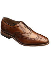 Allen Edmonds - Mcallister Leather Brogue Oxfords - Lyst