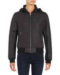 Andrew Marc - Zip-out-hood Quilted Coat - Lyst