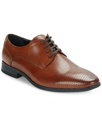 Kenneth Cole Reaction - Minute To Spare Leather Oxfords - Lyst