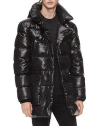 Calvin Klein - Quilted Hooded Jacket - Lyst