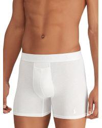 Polo Ralph Lauren - Stretch Cotton Boxer Briefs 2-pack - Lyst