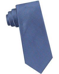 Ted Baker - Zigzag Neat Silk Tie - Lyst