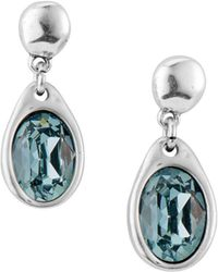 Uno De 50 - Swarovski Crystal Drop Earrings - Lyst