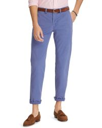 6080fbccad4 Lyst - Polo Ralph Lauren Straight-Fit 5-Pocket Chino Pants in ...