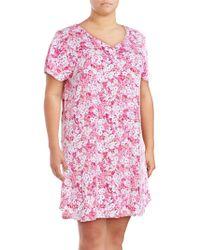Karen Neuburger - Plus Floral Nightgown - Lyst