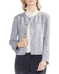Vince Camuto - Crew-neck Jacket - Lyst