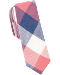 Original Penguin - Panatta Check Cotton Tie - Lyst