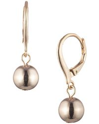 Ralph Lauren - Ball Drop Earrings - Lyst