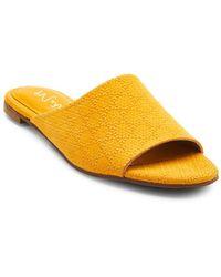 Matisse - Lira Textured Leather Slides - Lyst