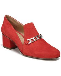 Franco Sarto - Layola Suede Court Shoes - Lyst