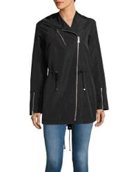 Vince Camuto - Hooded Parka Jacket - Lyst