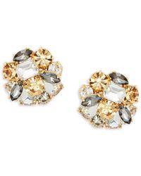 Kate Spade - Shine On Cluster Stud Earrings - Lyst