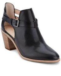 G.H.BASS - Sylvia Leather Ankle Boots - Lyst
