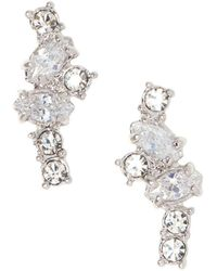 Vince Camuto - Crystal Climber Earrings - Lyst