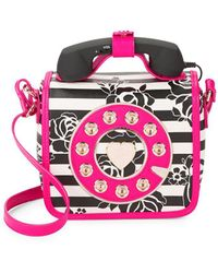 Betsey Johnson - Kitsch Must Have Mini Phone Crossbody Bag - Lyst