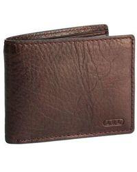 Lauren by Ralph Lauren - Leather Passcase Wallet - Lyst
