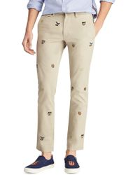 Polo Ralph Lauren - Stretch Slim-fit Chino Trousers - Lyst