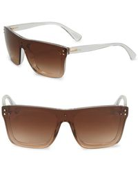 Pink Pony - 50mm Shield Sunglasses - Lyst