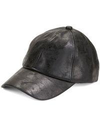 Steve Madden - Faded Metallic Baseball Cap - Lyst