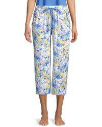 Karen Neuburger - Floral Cotton Blend Pyjama Pants - Lyst