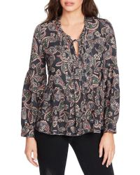 William Rast - Long Bell Sleeve Atwood Top - Lyst