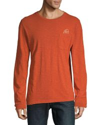 Surfside Supply - Graphic Cotton Sweatshirt - Lyst