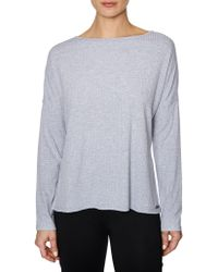 Betsey Johnson - Long-sleeve Strappy Back Pullover - Lyst