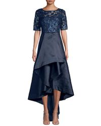 Adrianna Papell Sequin Lace Dress
