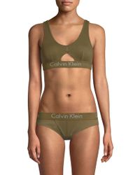 CALVIN KLEIN 205W39NYC - Body Cotton Bralette - Lyst