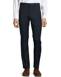 Perry Ellis Portfolio - Slim-fit Dress Trousers - Lyst