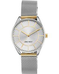 Nine West - Analog Mesh Bracelet Watch - Lyst