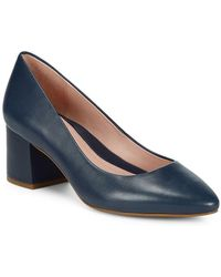Taryn Rose - Rochelle Leather Court Shoes - Lyst