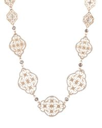 Lonna & Lilly - Crystal Link Necklace - Lyst
