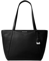 MICHAEL Michael Kors - Large Whitney Leather Tote - Lyst
