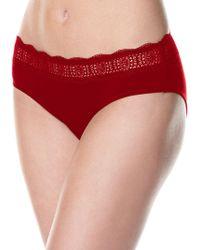 Rafaella - Lace Waistband Bikini Panties - Lyst