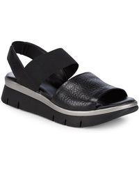 The Flexx - Cushy Leather Strap Sandals - Lyst
