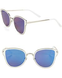Circus by Sam Edelman - 50mm Cat Eye Sunglasses - Lyst